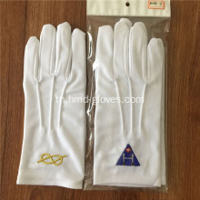 White Masonic Gants สำหรับ Freemasons
